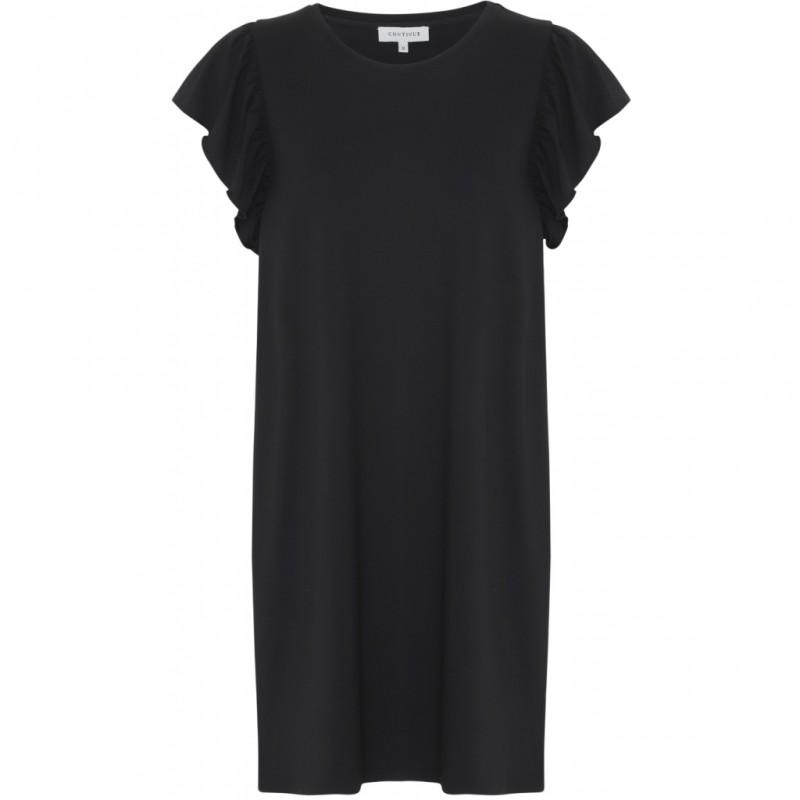 Continue Cph California Jersey Dress Black