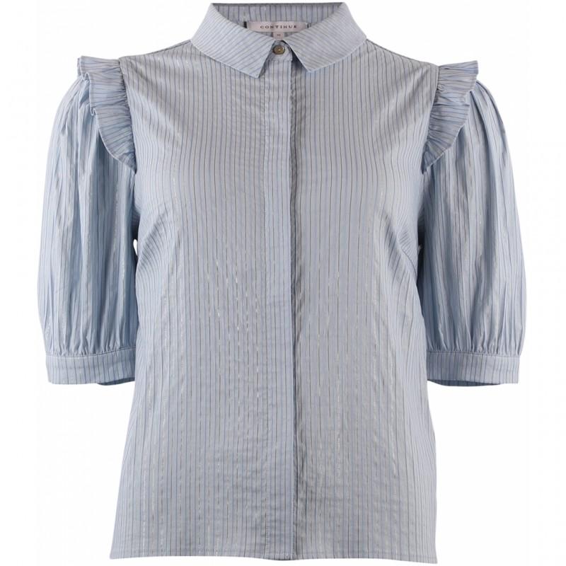 Continue Cph Elsa Shirt Blue Stripe