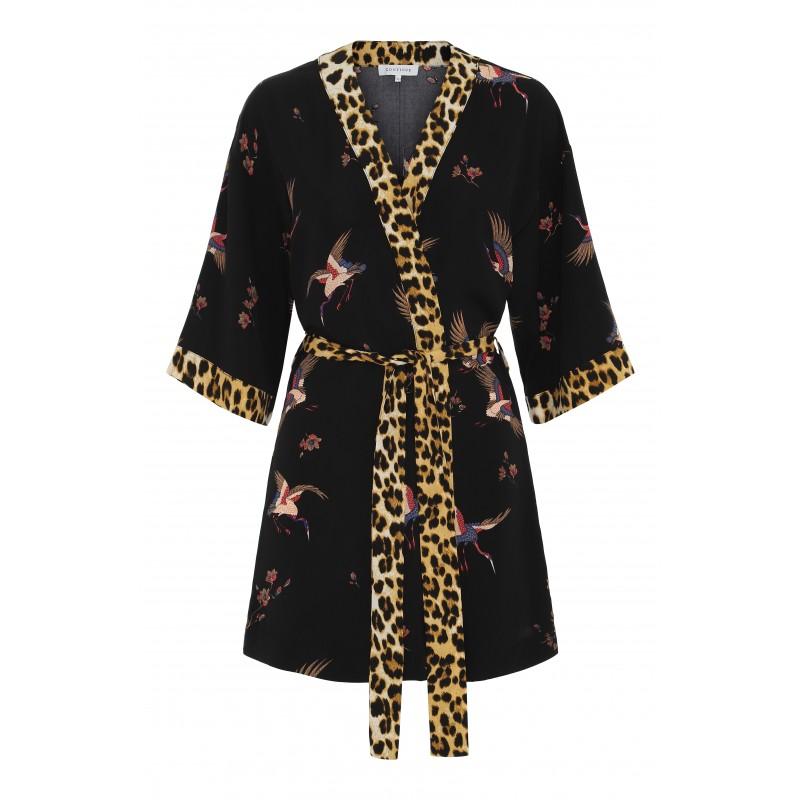 Continue Cph Noa Kimono Wild Black