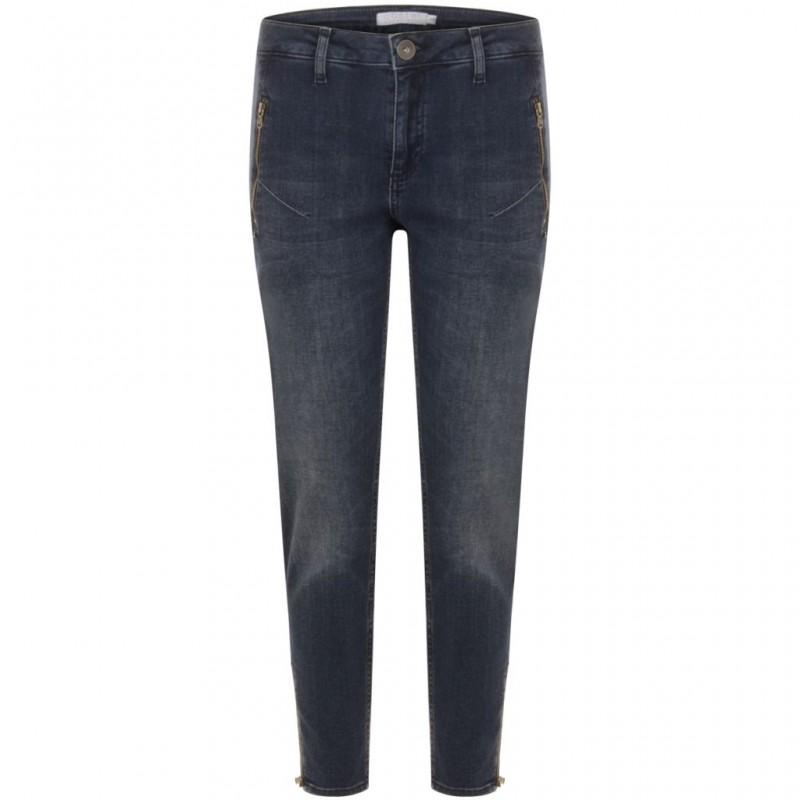Coster Copenhagen 7/8 Jeans Indigo Blue