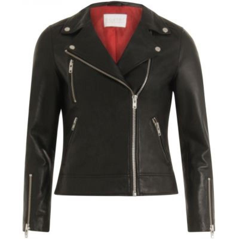 Coster Copenhagen Biker Jacket Black