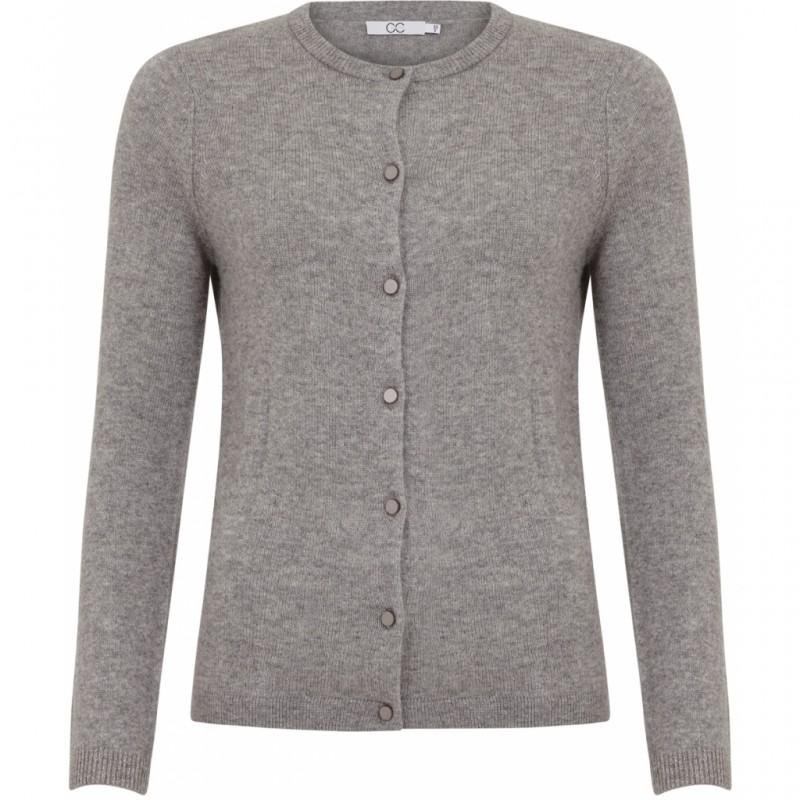 Coster Copenhagen CC Heart Cashmere Cardigan Warm Grey