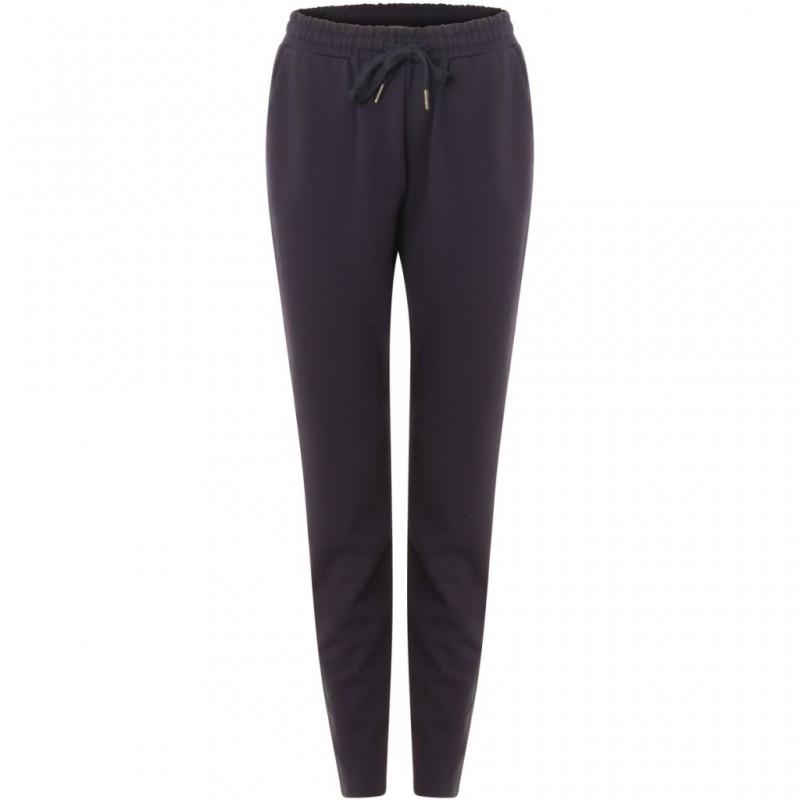 Coster Copenhagen Heavy Jersey Trousers Dark Blue