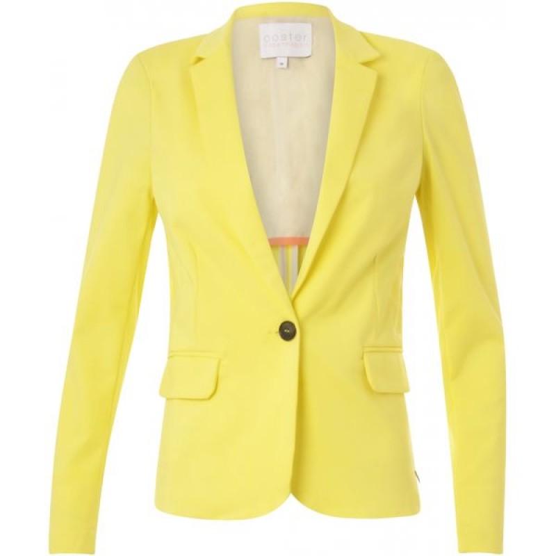 Coster Copenhagen Suit Jacket W. Rib At Side Pineapple
