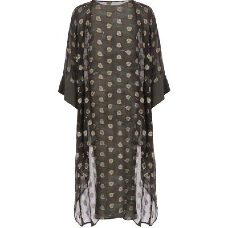 Coster Copenhagen Kimono Top In Camouflage Print