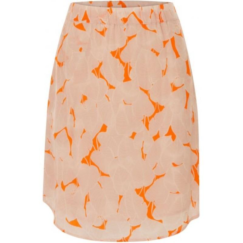 Coster Copenhagen Leaf Print Skirt