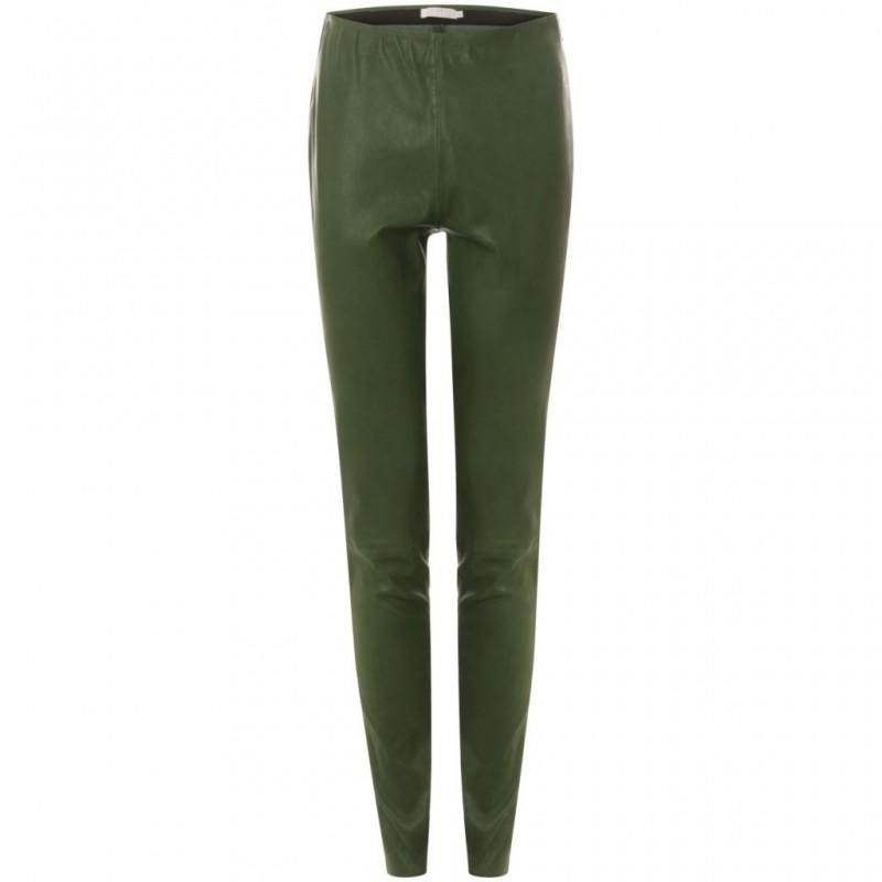 Coster Copenhagen Leather Stretch Leggings Jelly Green
