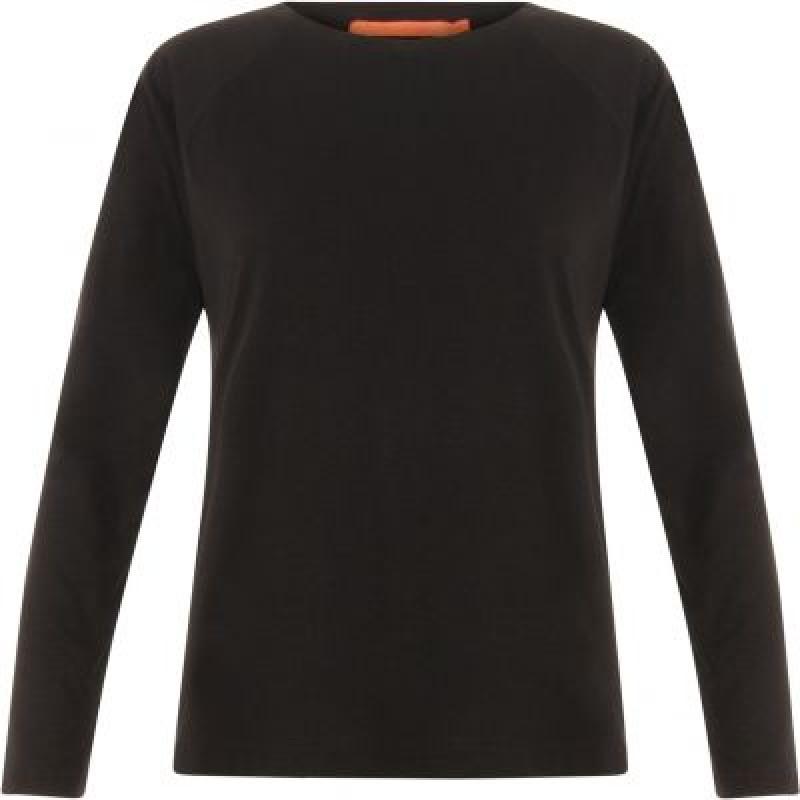 Coster Copenhagen Longsleeved T-shirt W. Raglan Sleeves Black