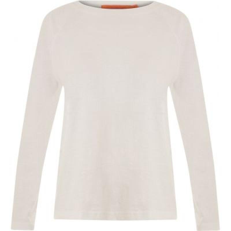 Coster Copenhagen Longsleeved T-shirt W. Raglan Sleeves White