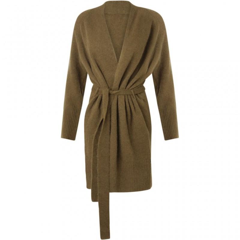 Coster Copenhagen Mohair Kimono Cardigan Olive