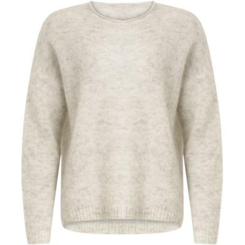 Coster Copenhagen Mohair Sweater Snow Grey