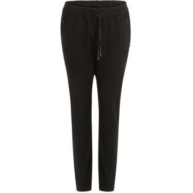 Coster Copenhagen Pants In Jersey W. Zipper Pockets Black