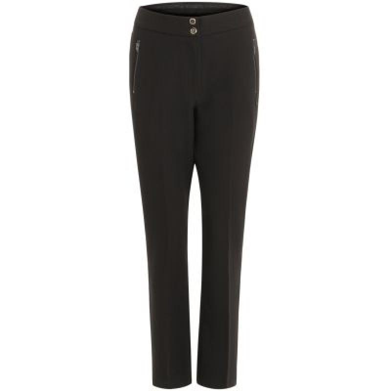 Coster Copenhagen Pants W. Bootcut Leg And Zipper Pockets Black