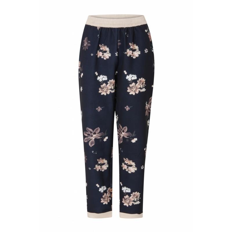 Coster Copenhagen Pants W. Flower Print Soft