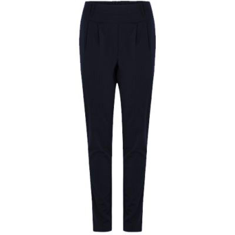 Coster Copenhagen Pants W. Jersey Back Luca Dark Blue