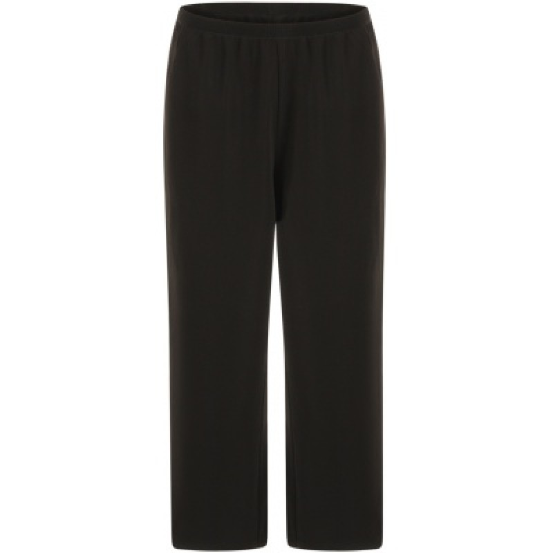Coster Copenhagen Pants W. Wide Legs And Piping Black