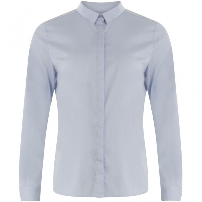 Coster Copenhagen Regular Shirt Oxford Blue