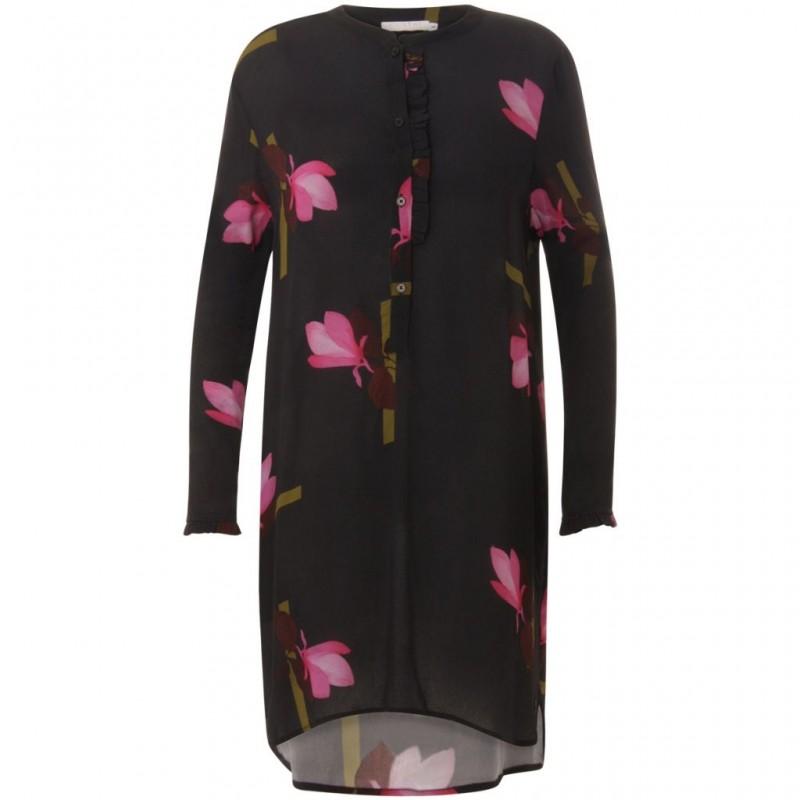 Coster Copenhagen Shirt Dress W. Mokuren Print