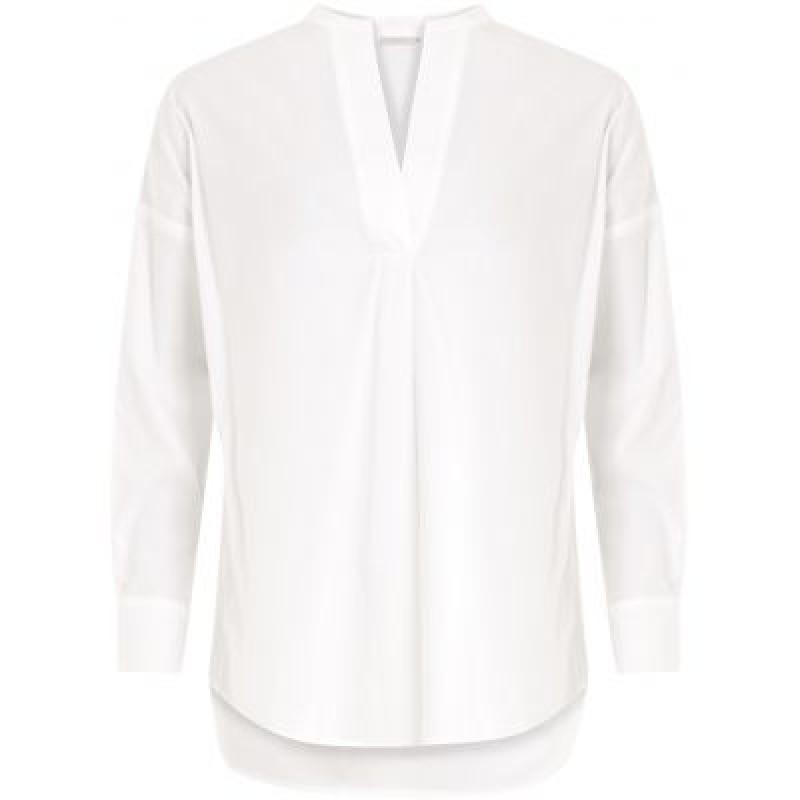 Coster Copenhagen Shirt W. Stand Collar White