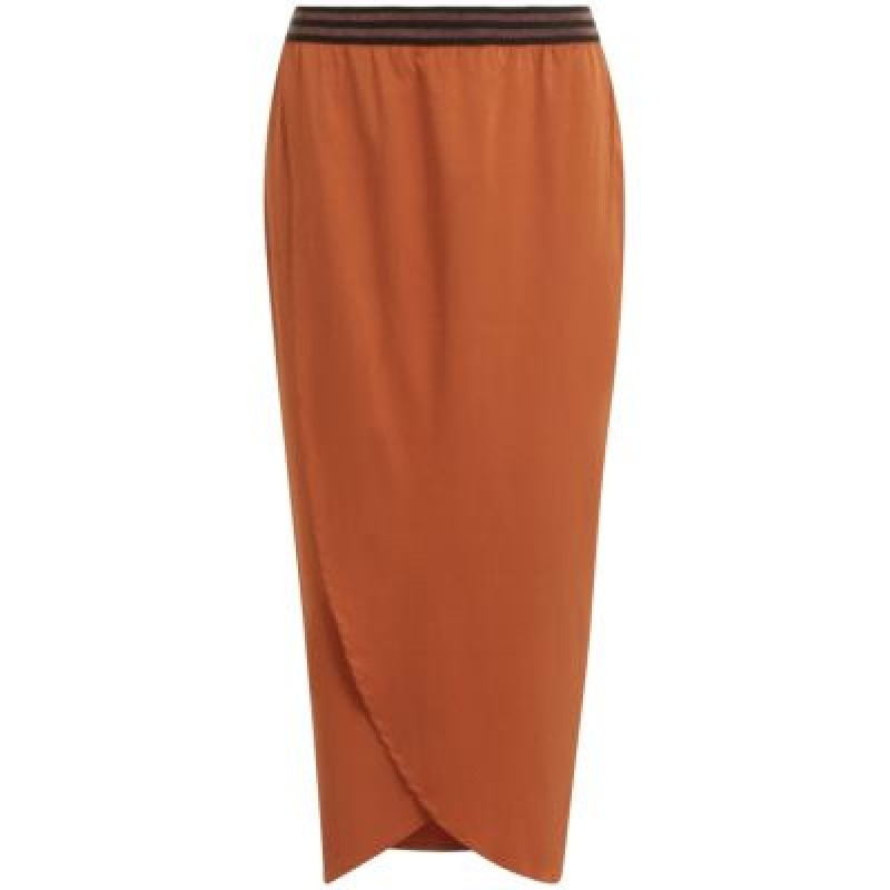 Coster Copenhagen Skirt W. Elastic In Waist Rust