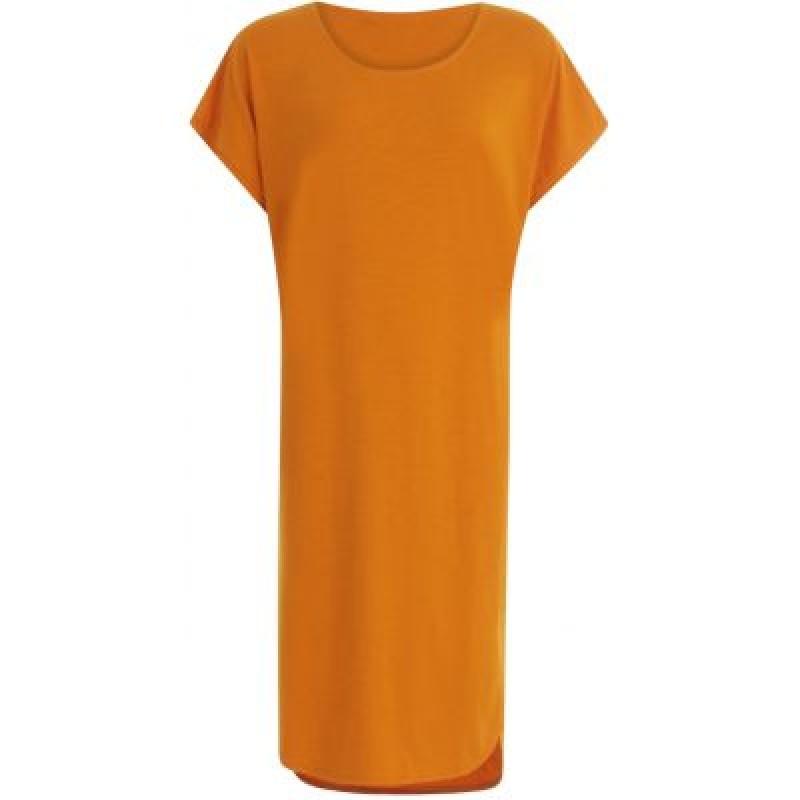 Coster Copenhagen T-shirt Dress Exotic Orange