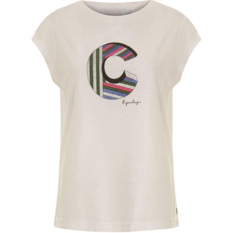 Coster Copenhagen T-shirt W. C White