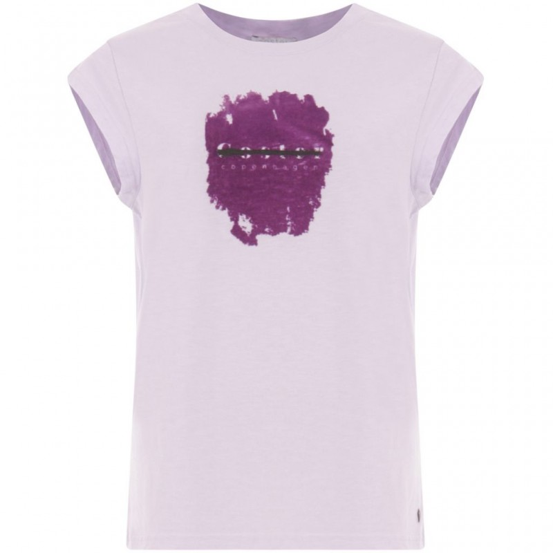 Coster Copenhagen T-shirt W. Coster In Flock Pastel Lilac