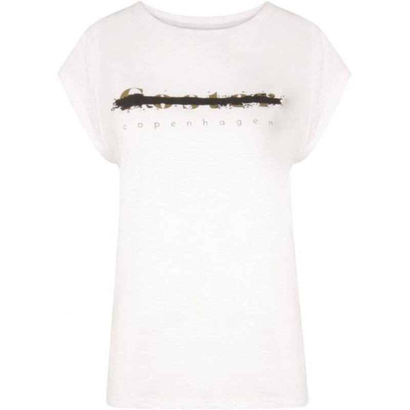 Coster Copenhagen T-shirt W. Coster Logo White