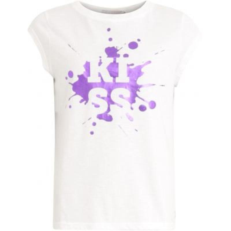 Coster Copenhagen T-shirt W. Splash Print White