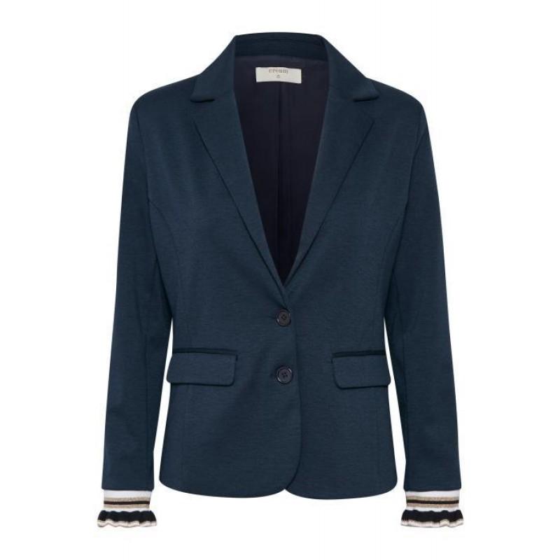 Cream Anett Sporty Blazer Royal Navy Blue