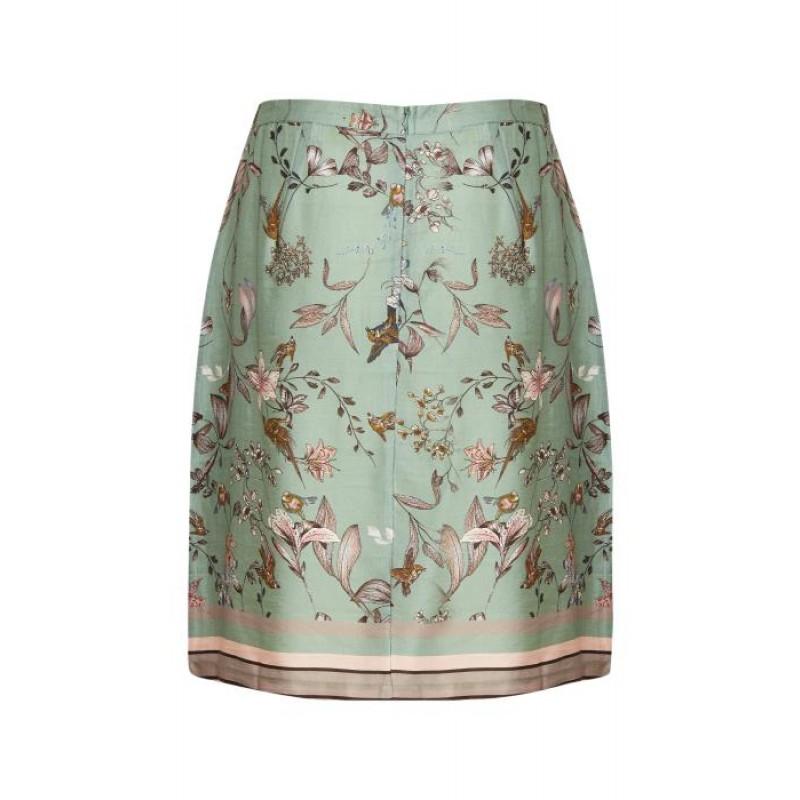 Cream Blake Skirt Lily Green