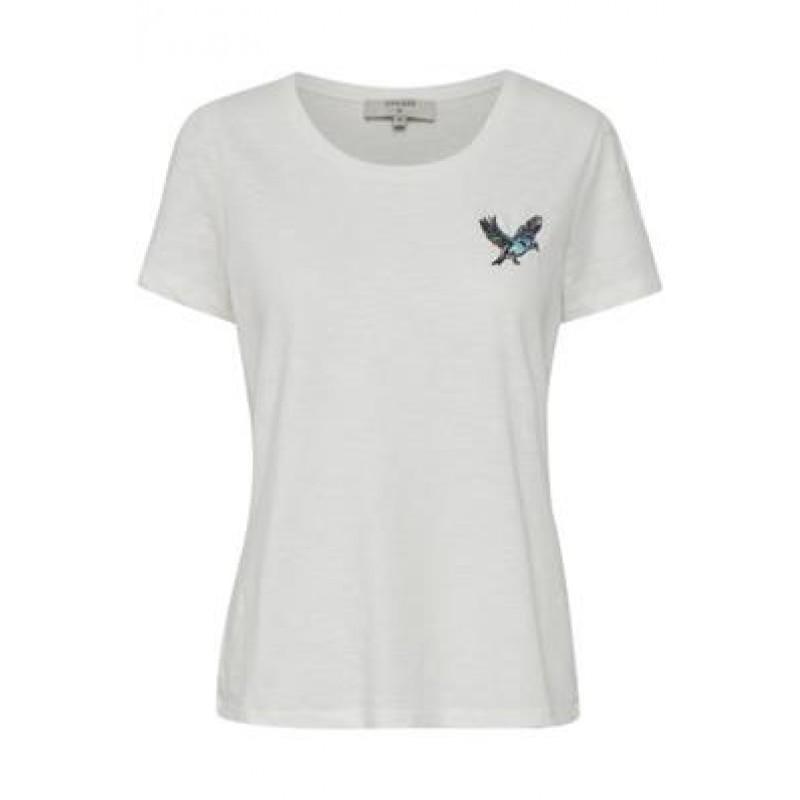 Cream Bree T-shirt Chalk