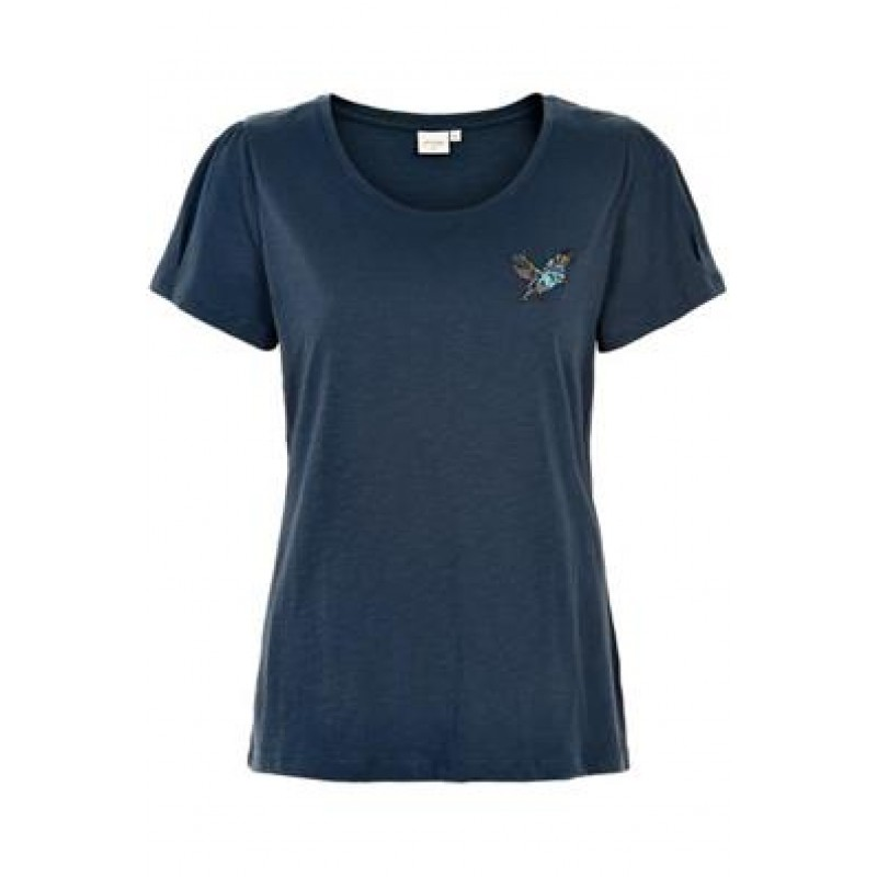 Cream Bree T-shirt Royal Navy Blue