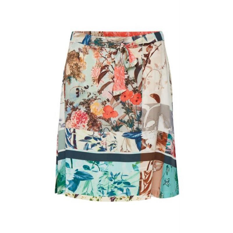 Cream Cherry Skirt Lily Green