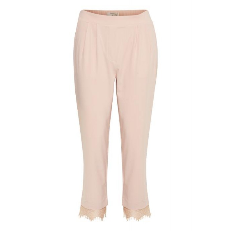 Cream Esther Lace Pant Rose Dust