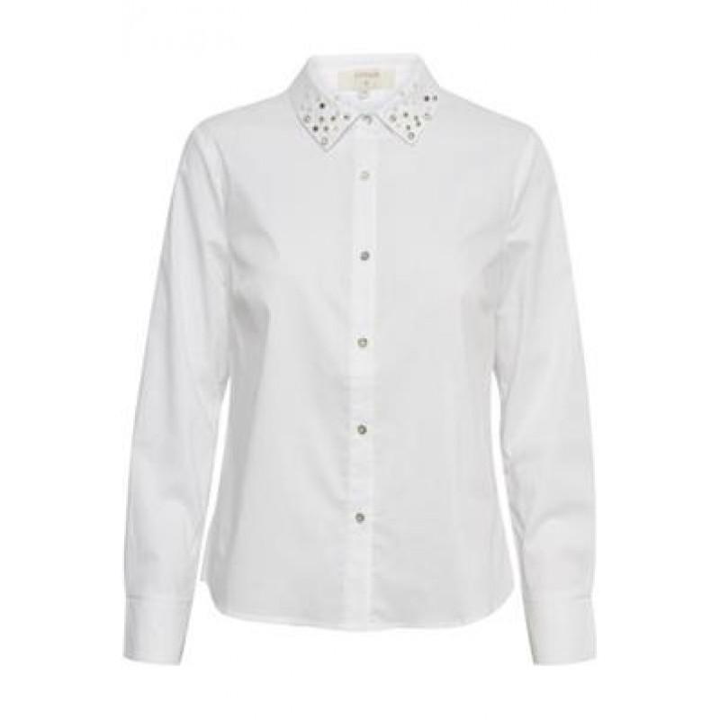Cream Fia Shirt Chalk