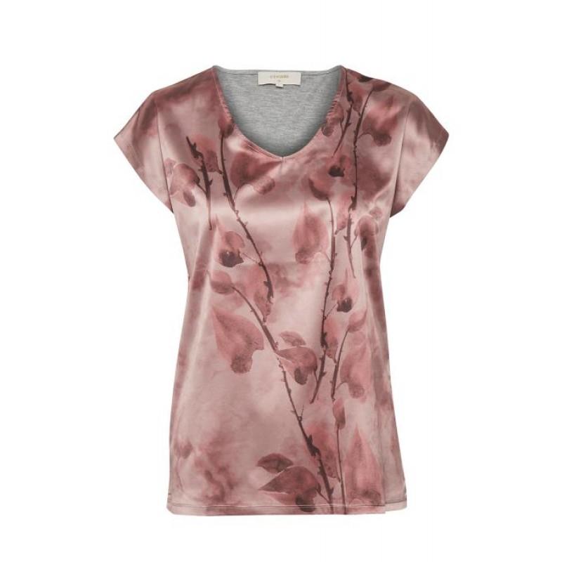 Cream Malina T-shirt Burnt Russet