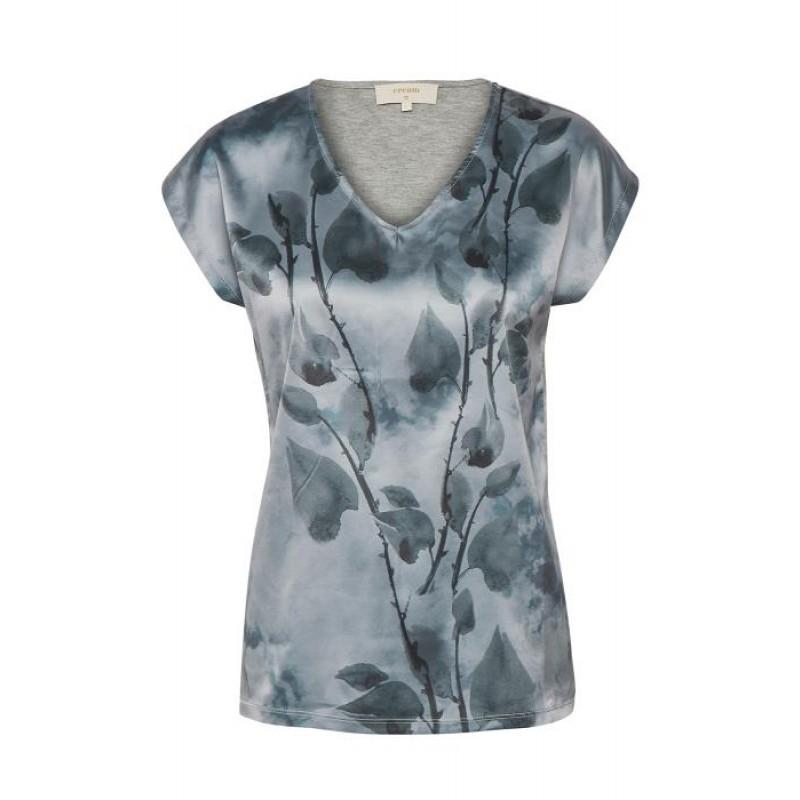 Cream Malina T-shirt Dusty Blue