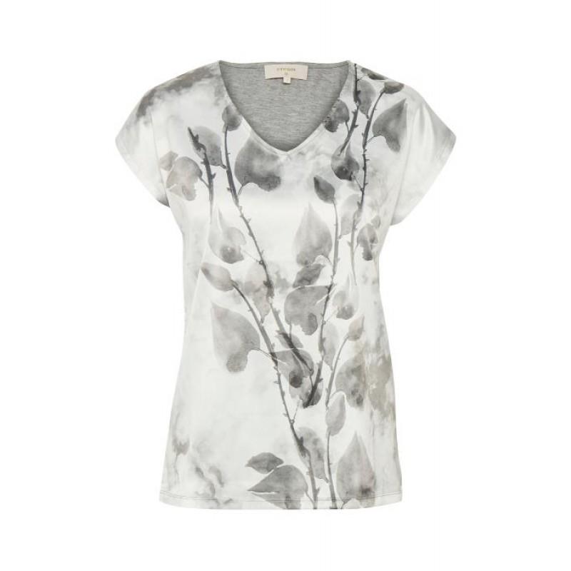 Cream Malina T-shirt Soft Grey