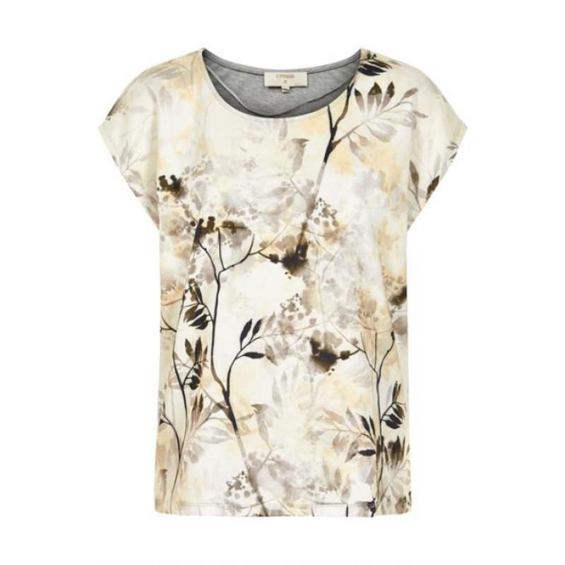 Cream Nora T-shirt Pristine Sand