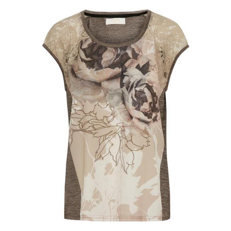 Cream Wilja T-shirt S/S Champange Melange
