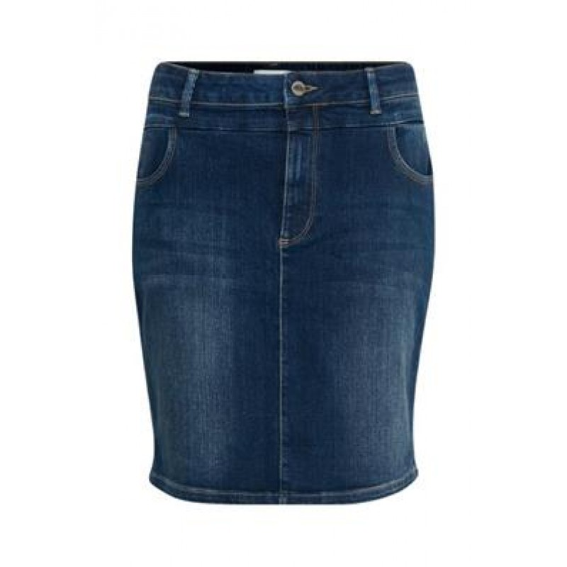 Denim Hunter Almo Denim Skirt Blue Wash