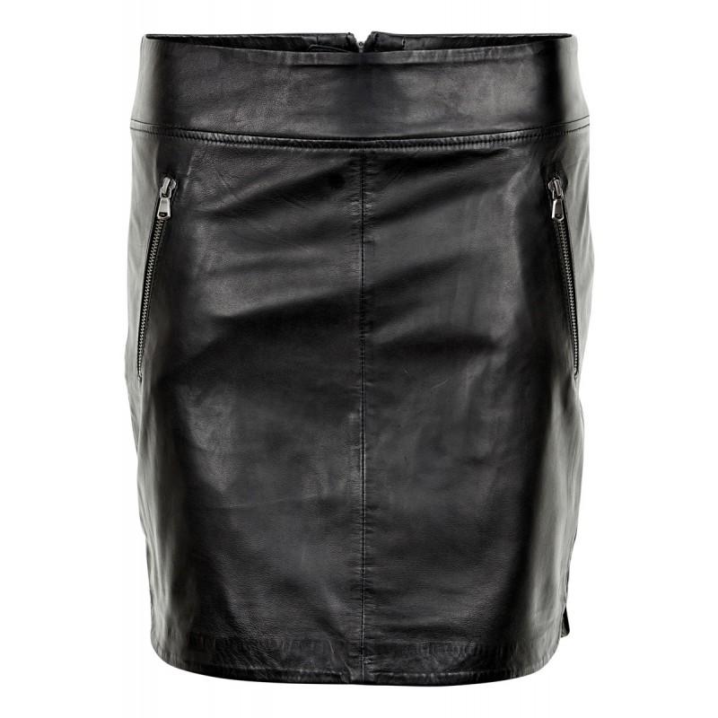 Denim Hunter Caroline L Skirt Black