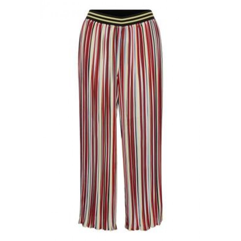 Denim Hunter DHGabriella Pant Pleated Pants Multi Colour