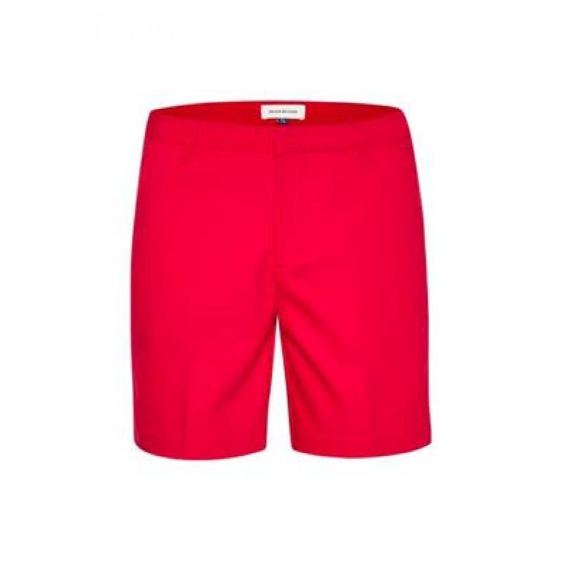 Denim Hunter Paula Short Shorts Fiery Red