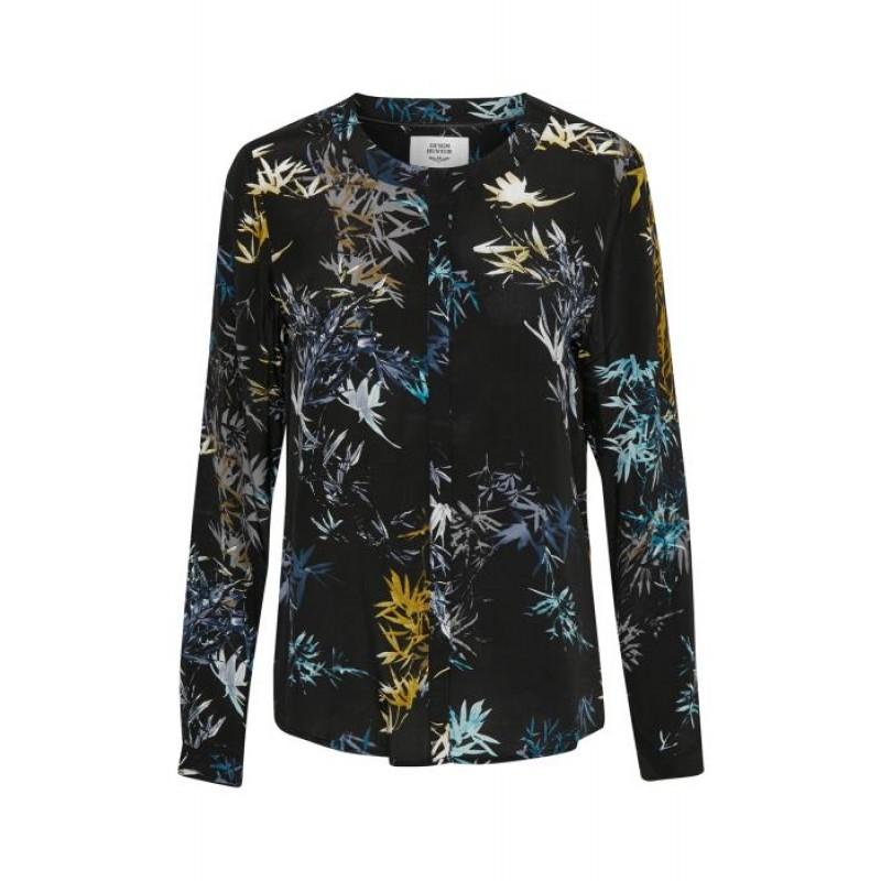 Denim Hunter Frida Shirt Blue Coral