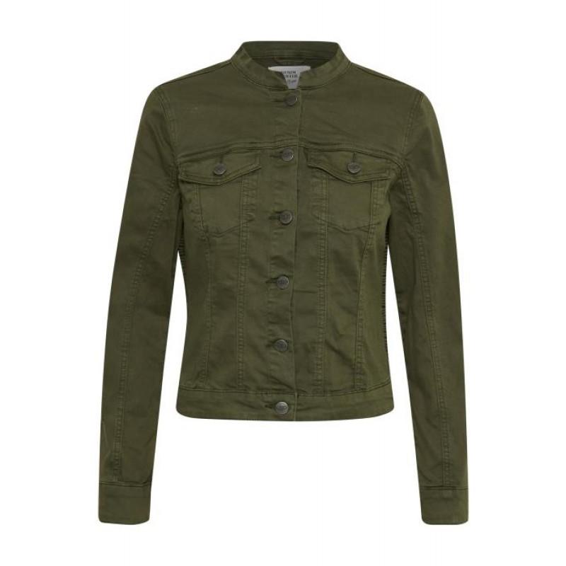 Denim Hunter Giovanni Army Jacket Olive Night