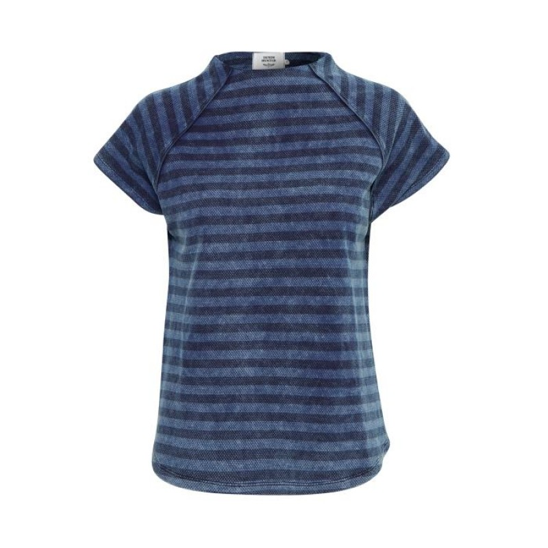 Denim Hunter Hara T-shirt Dusty Blue