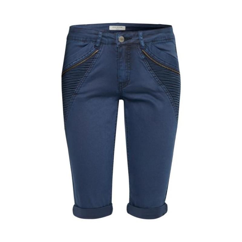 Denim Hunter Jamilla Shorts Custom Navy