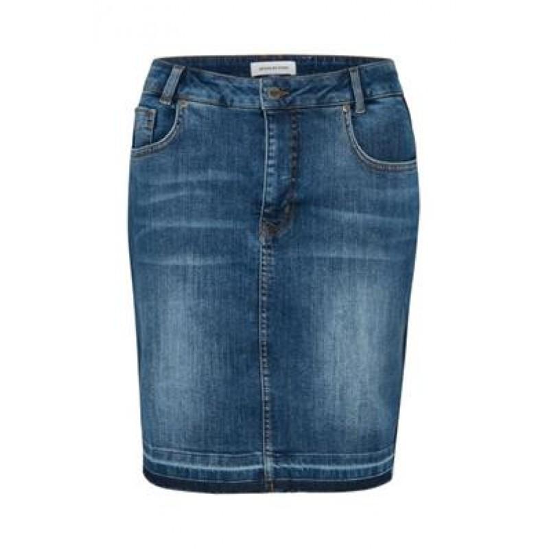 Denim Hunter Lilo Denim Skirt Blue Wash